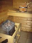 Ansicht einer Sauna